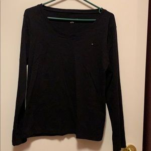 Tommy Hilfiger black top